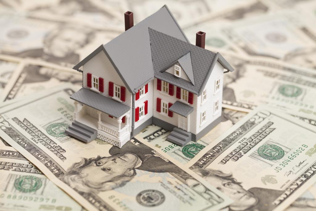home on top of bills